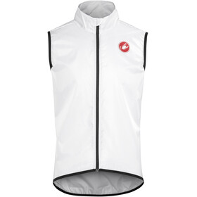 Castelli Squadra Long Bike Vest Men white